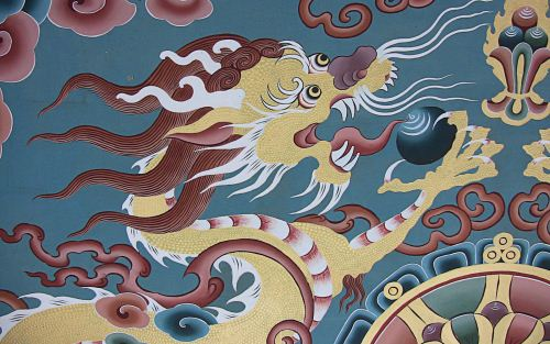 Tibetan wall paintings The Buddhist Wallpaper Collection
