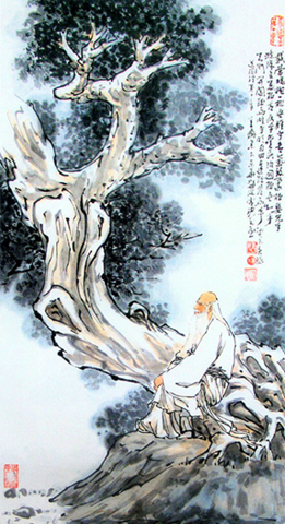 326pxLaozi contemplating nature 2 What is Daoism?