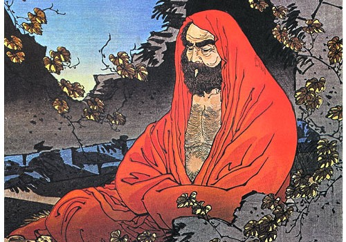 Bodhidharma 500x350 A Sudden Dawn: Book Review