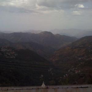 Shimla, looking towards Tibet