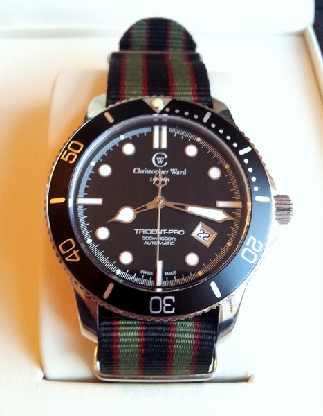 1 20120223 080239 002 Christopher Ward C60 Bond Review