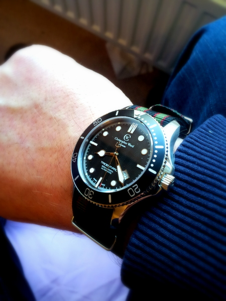 1 20120223 080822 001 Christopher Ward C60 Bond Review