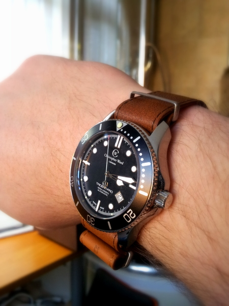 1 20120223 151404 Christopher Ward C60 Bond Review