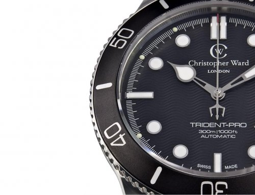 "Christopher Ward C60 Trident ""Bond"" Review"