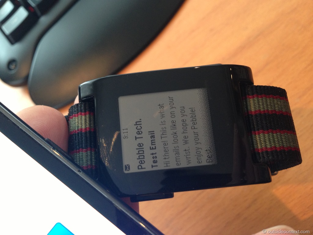 2013 02 23 09.11.51 Pebble Smart Watch Review   More than just potential?