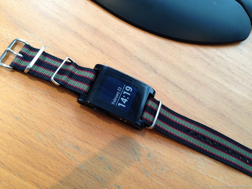 photo 7 Pebble Smart Watch Review   More than just potential?