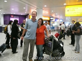 LHR again thumb Endings and Beginnings   Basho and Cesca return home from their adventures