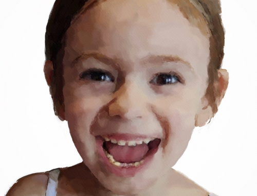 """Morgan"" – Digital Watercolour"