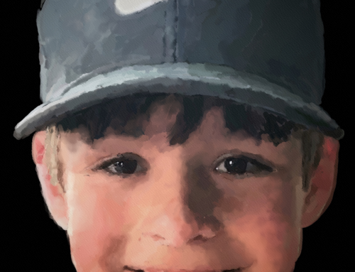 """Samuel"" – Digital Watercolour"